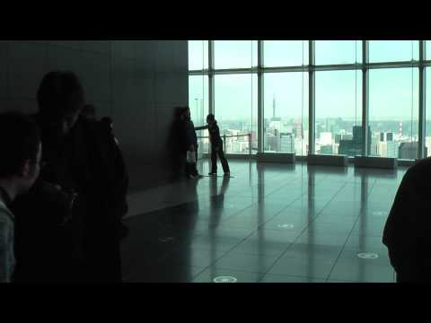 Tokyo Earthquake - Mori Tower 52nd Floor (11/3/2011)
