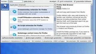 Kubuntu: Firefox installieren