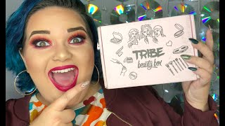 October Tribe Beauty Box  Subscription Box Unboxing