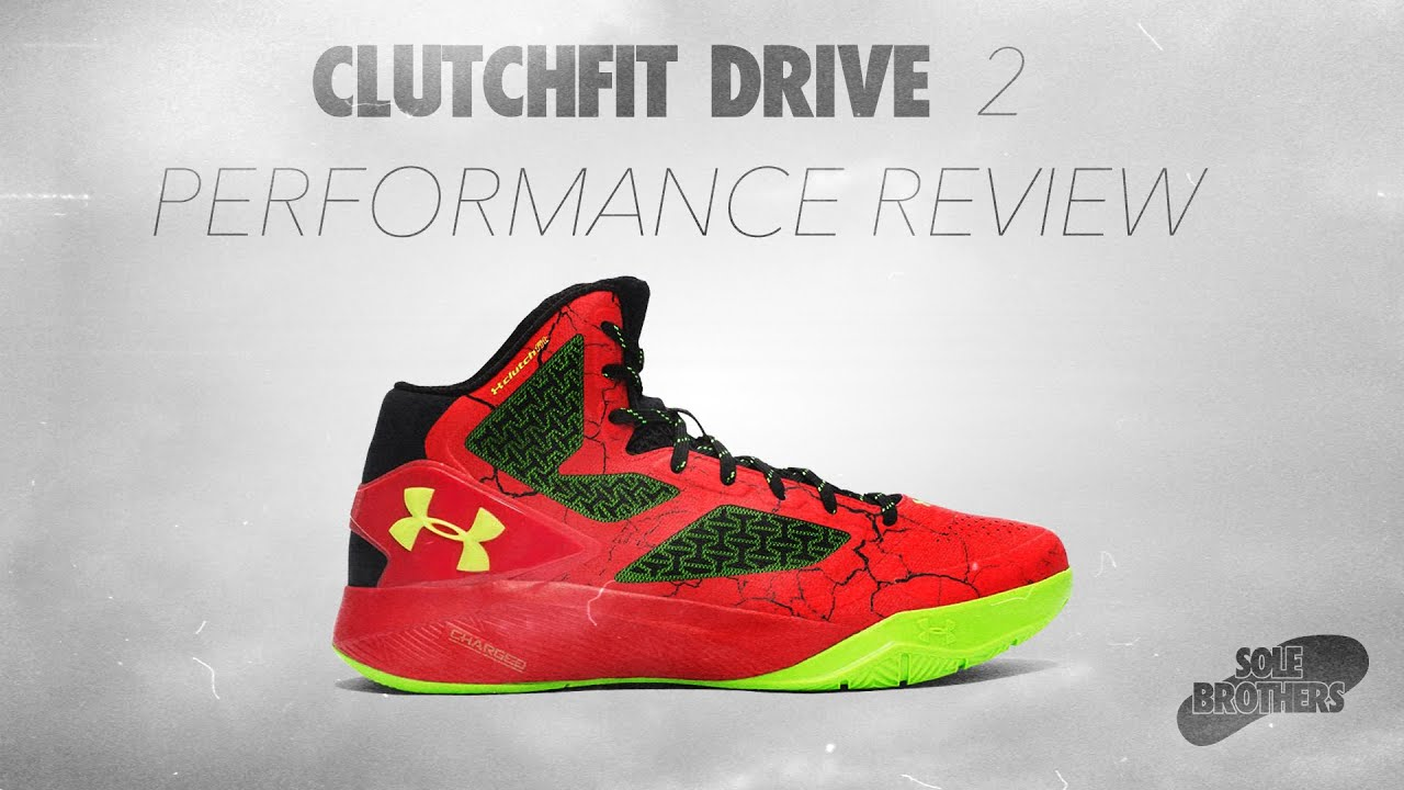 ae53affa78dc Under Armour Clutchfit Drive 2 Performance Review! - YouTube