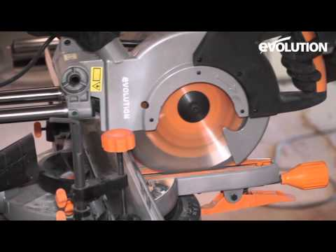 Evolution Rage3 Mitre Saw / Miter Saw : Dry liner construction project
