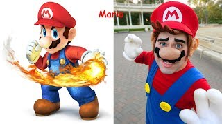 Mario Bros. in Real Life ! Mario Characters In Real Life