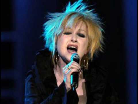 Cyndi Lauper - All Through the Night - on Howard Stern Show