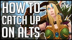 How To CATCH UP ON ALTS In Patch 8.3 | WoW BfA