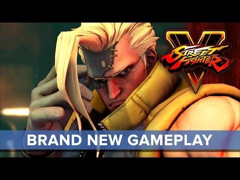 Street Fighter V Charlie Nash Gameplay Trailer