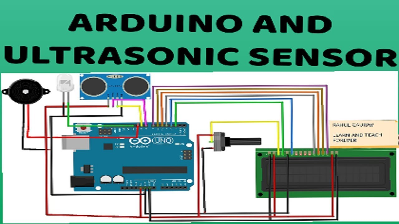 30. ULTRASONIC SENSOR AND ARDUINO || HOW #ULTRASONIC WORKS - YouTube