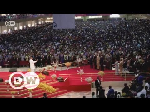 Nigerian megachurches draw in the faithful, and their cash |
