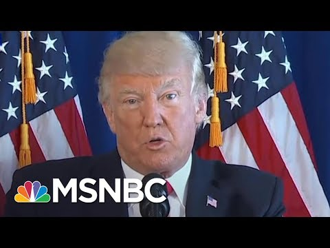 President Trump's Initial Response To Charlottesville Draws Criticism | AM Joy | MSNBC