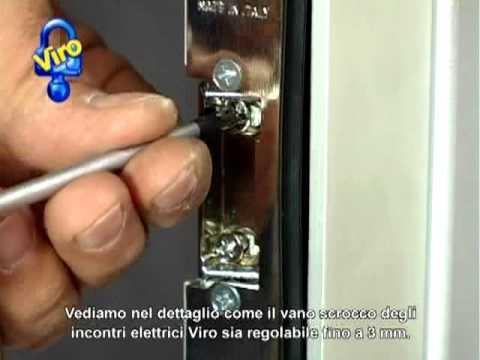Incontri elettrici reversibili simmetrici youtube - Paletto porta blindata ...