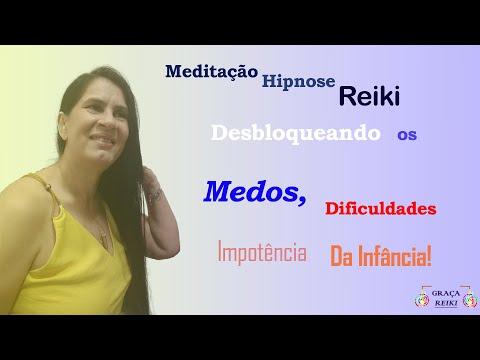 MEDITAÇÃO HIPNOSE REIKI- DESBLOQUEANDO EVENTOS NEGATIVOS DA INFÂNCIA.