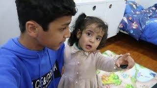 عماد وعلي ييصورون لحالهم/ وليلى ازعجتهم في محل الحلوى🔥