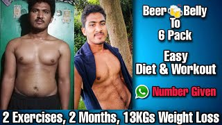 Weight loss challenge HOME DIET & WORKOUTS | Fitness Challenge | PraveensFitnessFamily