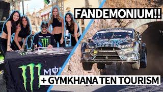 Ken Block Fandemonium! Rally Fans go Wild at WRC Mexico + Gymkhana TEN Film Location Tour