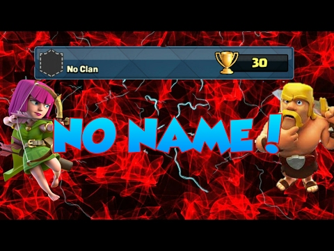 How To Get Invisible Name In Clash Royal [WORKING] 100%