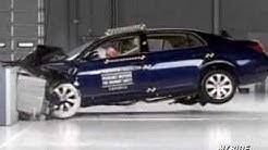 Crash Test: 2005 Toyota Avalon