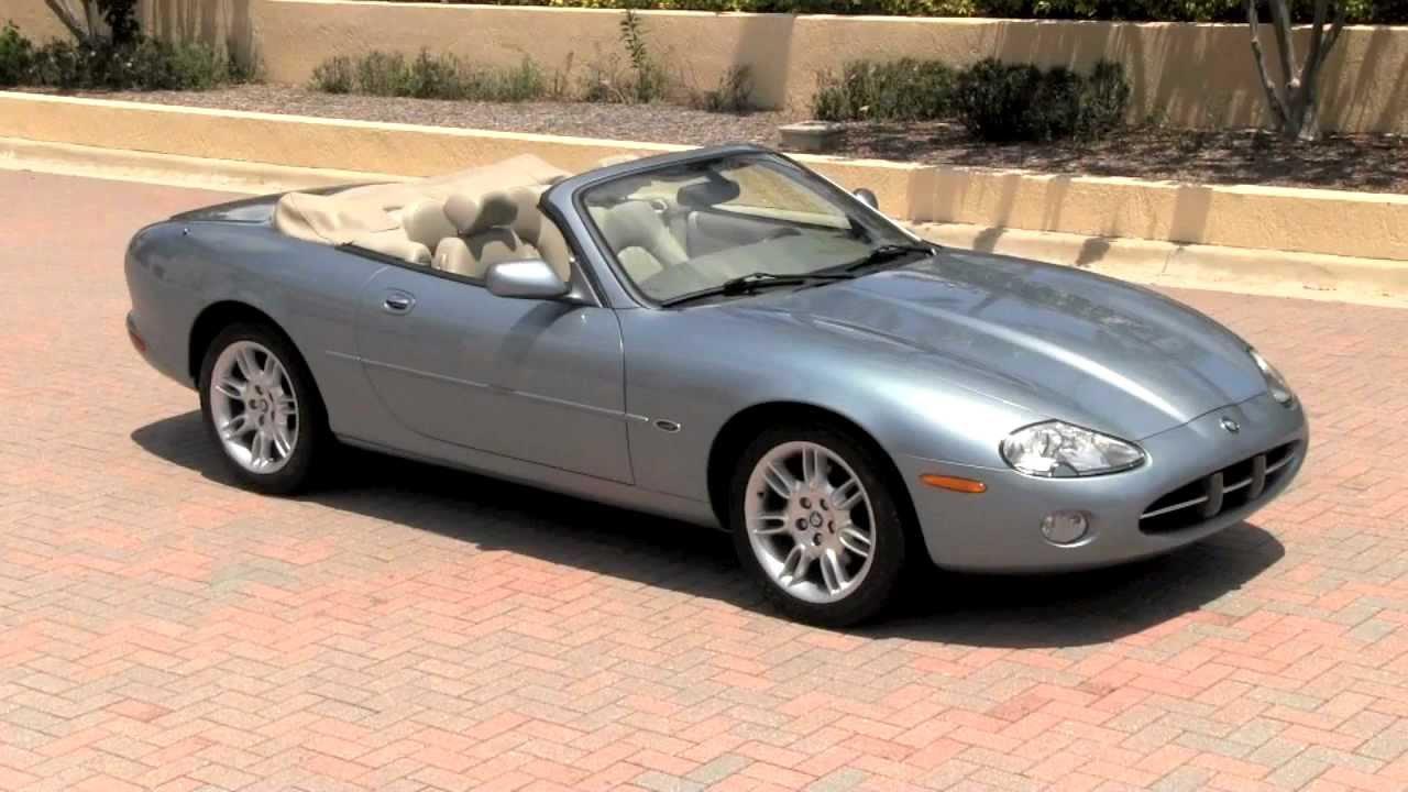 2002 jaguar xk8 convertible zircon metallic gulfstream motorcars youtube. Black Bedroom Furniture Sets. Home Design Ideas