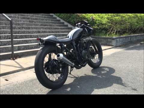 CB400SS ブラックレーサー  faction ファクション バイク チョッパー カフェ ストリート