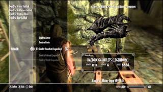 SKYRIM XBOX MOD- ALL ITEMS AND MAGIC+MORE!