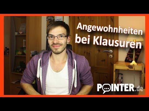 Patrick vloggt - Meine Angewohnheiten bei Prüfungssituationen