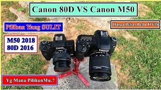 Canon 80d vs canon m50