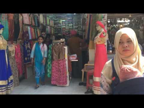 Jalan-jalan di India 2: Mampir ke Pasar Sarojini yang terkenal di New Delhi