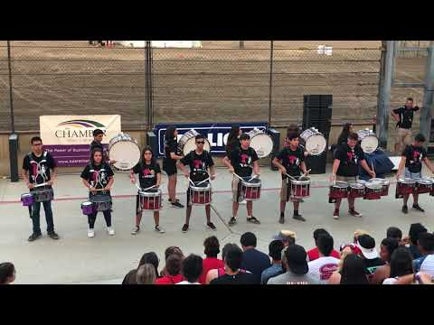 Tulare Union High School Drum Line