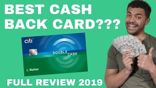 Citi Double Cash Back Card: Best Cash Back Credit Card (What you need to Know 2019)