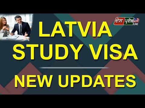 LATVIA STUDY VISA , NEW UPDATES