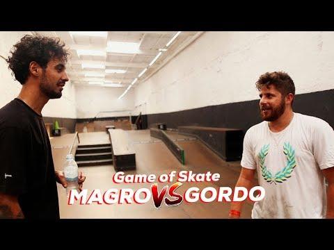 Gordo vs Magro - Game of SKATE Park