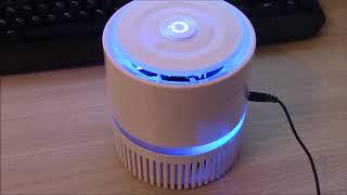 Распаковка, обзор, тест воздухоочистителя - ионизатора Ballu AP 100