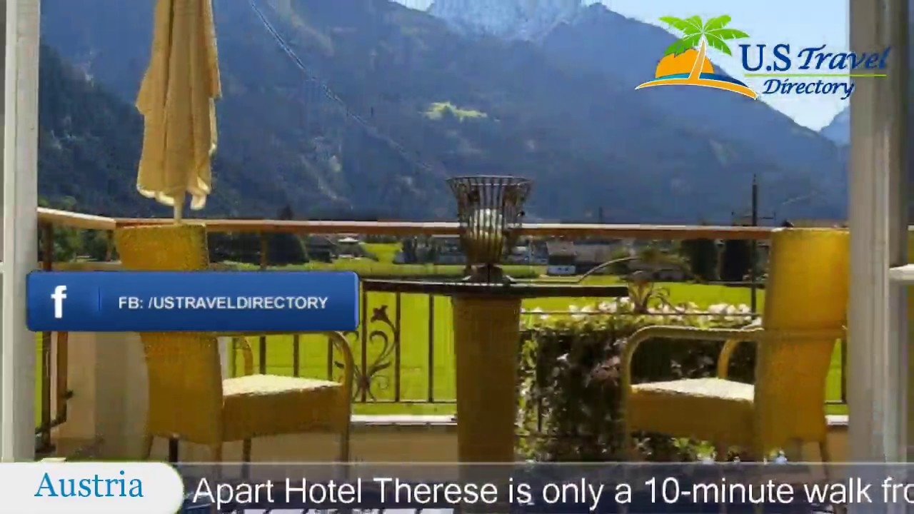 Apart Hotel Therese Mayrhofen Hotels Austria Youtube