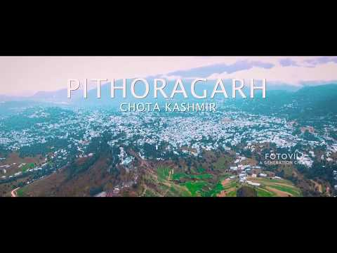 Pithoragarh in Full HD | Arial view | Time-lapse | Fotovila