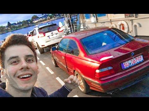 Моя BMW уже на ПАРОМЕ в ГЕРМАНИИ
