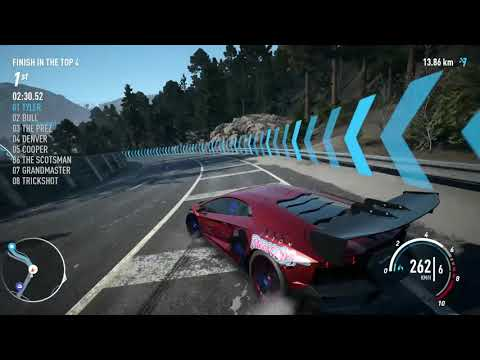 Need for Speed Payback - The Outlaw's Rush Final Mission, Race 1