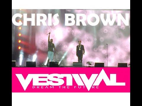 Chris Brown live @ Vestival 2015 Den Haag (1080p HD)!