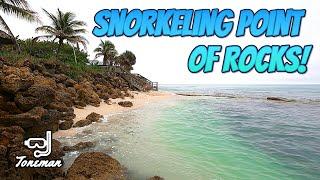Snorkeling Point of Rocks in Siesta Key Sarasota Florida