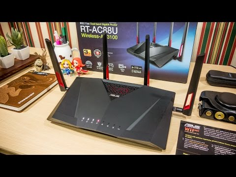 ASUS RT AC88U / AC3100 Review + Asus Router App Preview