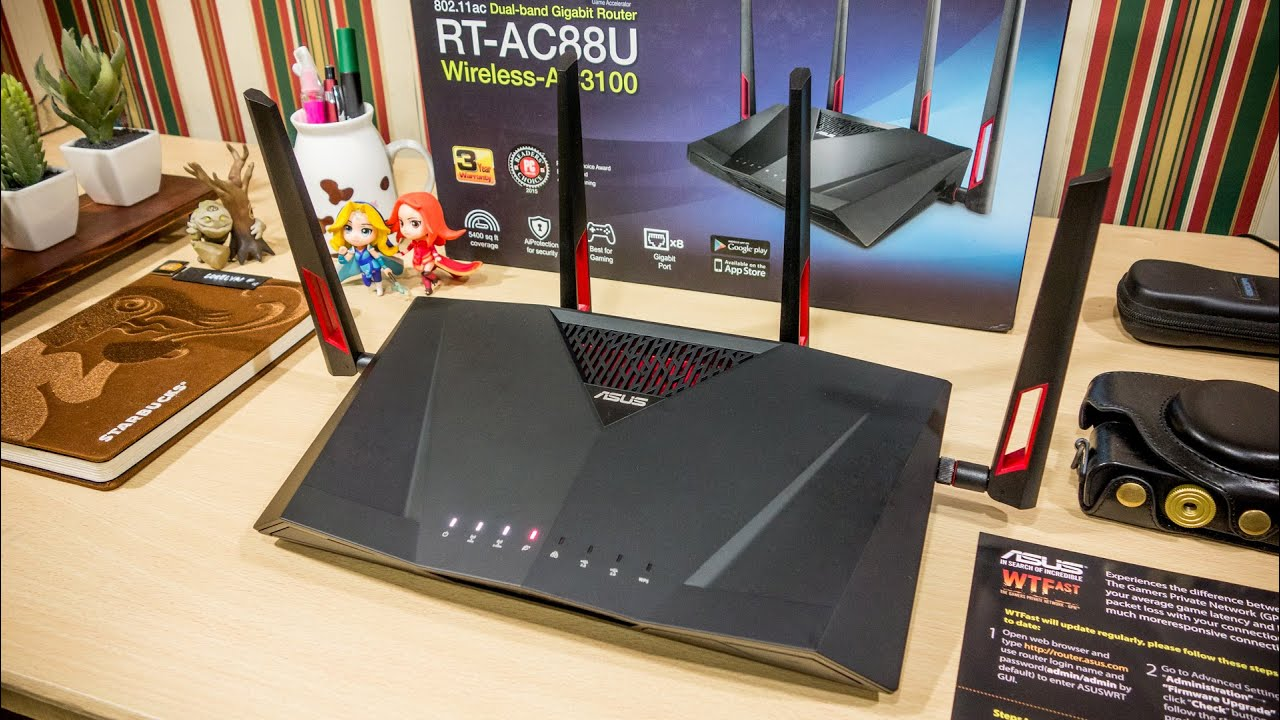 ASUS RT AC88U / AC3100 Review + Asus Router App Preview ...