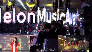 Download Video exo  reaction to gfriend / MMA 2017.12.2 fancam ver MP3 3GP MP4