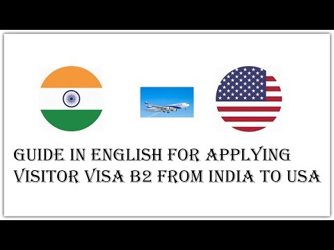 How To Apply For USA Visitor Visa B2 From India?