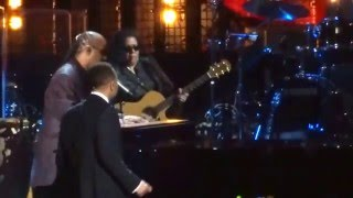 30th Annual Rock n' Roll Hall of Fame Inductions - 2015 - Stevie Wonder-John Legend and Bill Withers