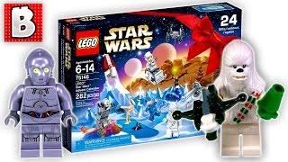 Lego Star Wars Advent Calendar Set 75146 | Unbox Build Time Lapse Review