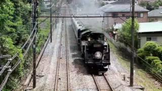 東武鉄道 蒸気機関車「大樹」鬼怒川温泉駅入れ換え作業 時短板