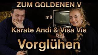 """KARATE ANDI & VISA VIE über BattleRap, """"Turbo"""", gemeinsame Ausflüge uvm. ZUM GOLDENEN V - Vorglühen"""