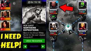 Marvel Contest of Champions. Master Northern Expeditions are HARD. Insane Grind for EPIC Rewards.