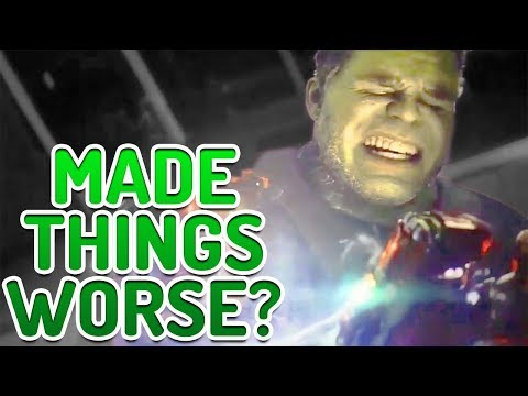 Did Hulk's Snap Really Fix Everything? Avengers Endgame & Spider-Man Far From Home Analysis
