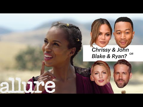 Kerry Washington Plays 'Would You Rather?' | Allure