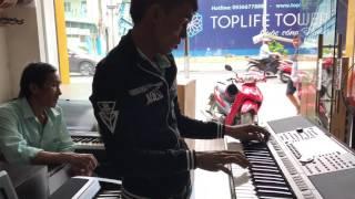 Khách VIP Quãng Ngãi Test Đàn Quá Phiêu - Hoàng Piano