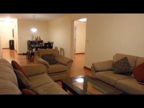 Alquiler amoblado departamento miraflores 3 habitaciones Departamento 3 habitaciones