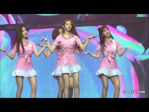 [FanCam] JIYEON (T-ARA #티아라) 2016 Shanghai Concert